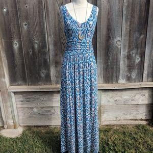 Anthropologie | Vanessa Virginia Tidal Maxi Dress